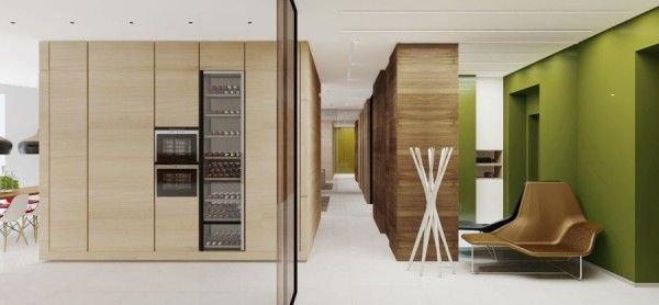 Simple yet modern interiors from 2 b group
