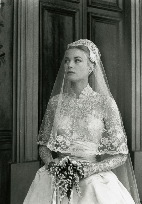 Αποτέλεσμα εικόνας για grace kelly wedding dress