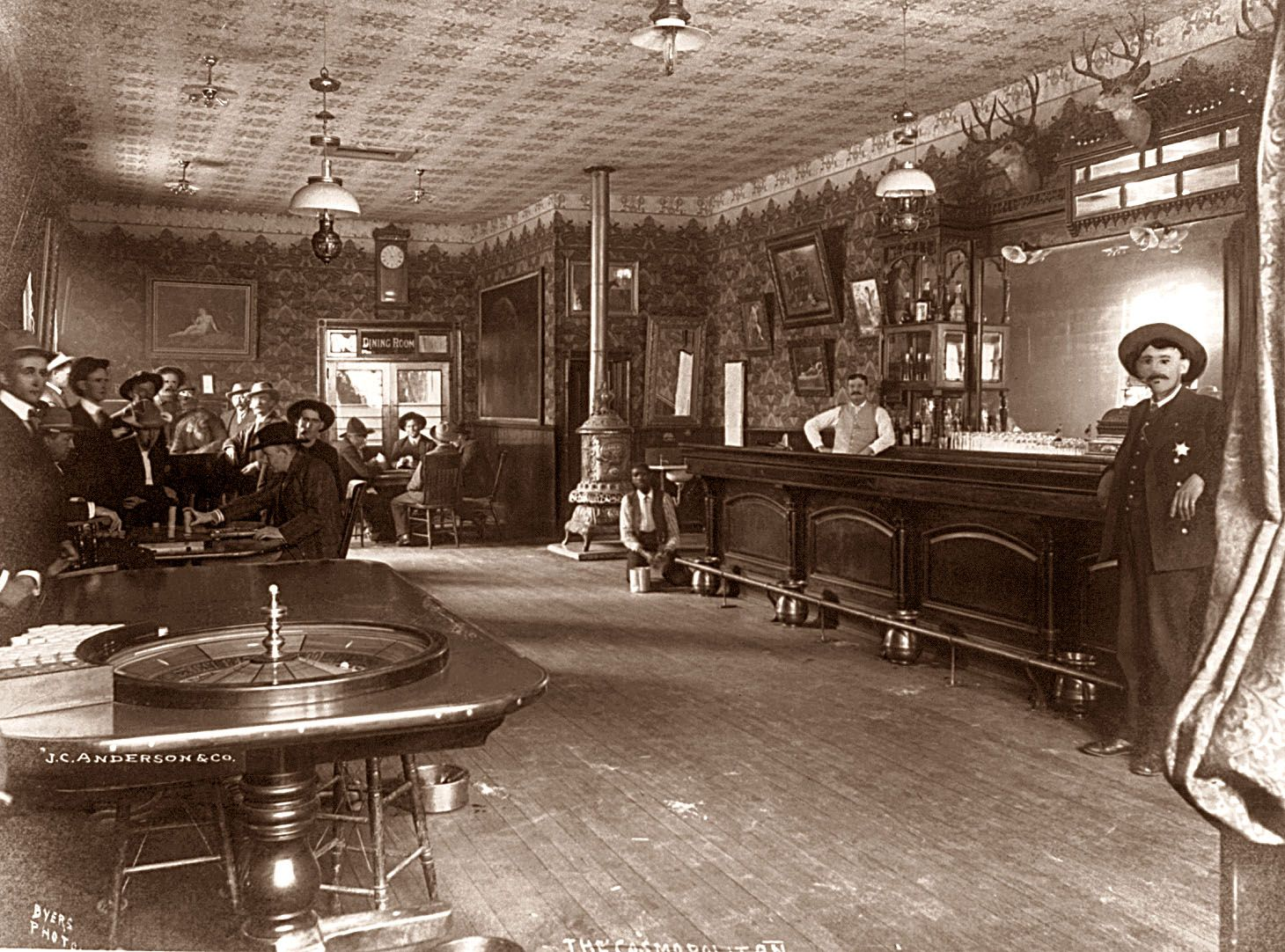 Old west saloon gambling casino in madison county illinois
