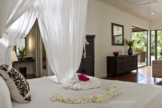 Beautiful and luxurious. Vomo Fijian Resort, Typical Villa Interior.
