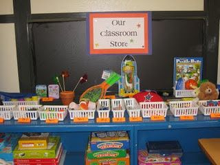 classroom store...good for a grant sometime!