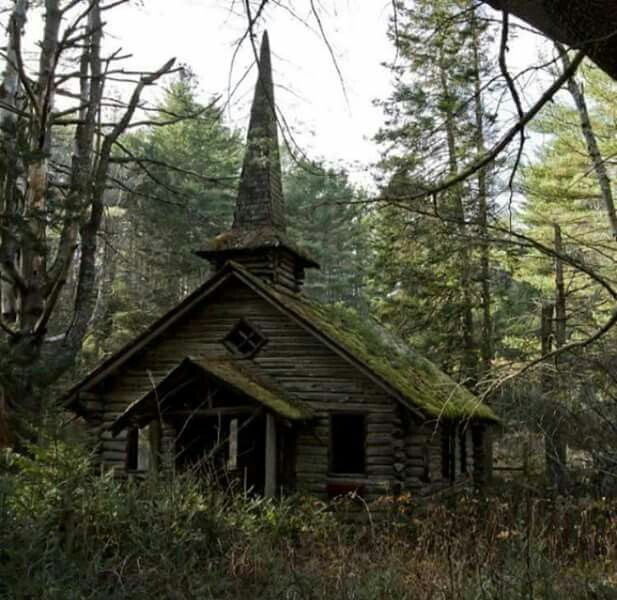 Abandoned Church, Old Abandoned Buildings