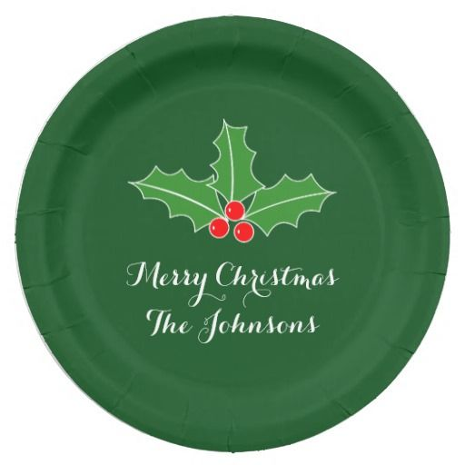 Big disposable Christmas plates for dinner party  sc 1 st  Pinterest & Big disposable Christmas plates for dinner party | Christmas Paper ...