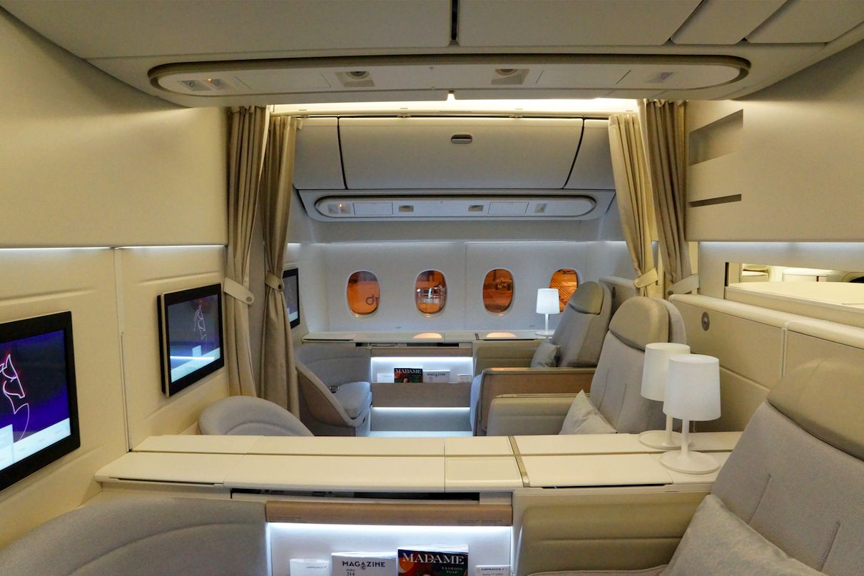 [REPORTAGE] Air France La Première SIN/CDG Boeing