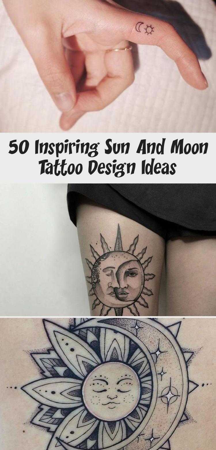 Photo of 50 idées inspirantes de conception de tatouage de soleil et de lune – Tatouages