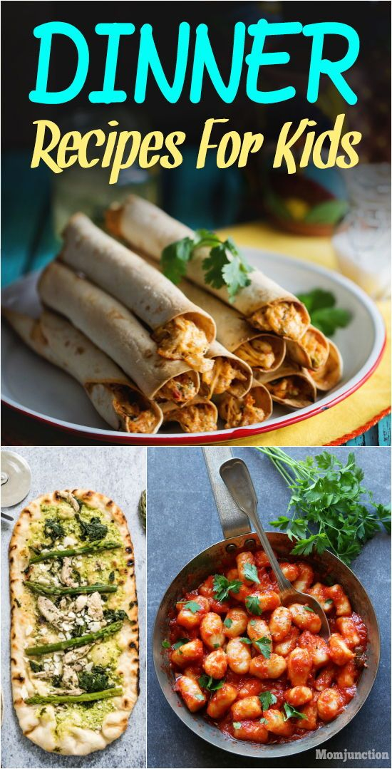 15 Quick And Yummy Dinner Recipes For Kids images