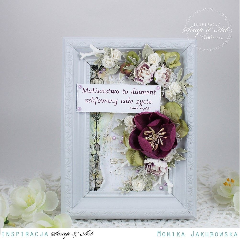 Frame with quote  Scrapbook  Altered Frames  Pinterest