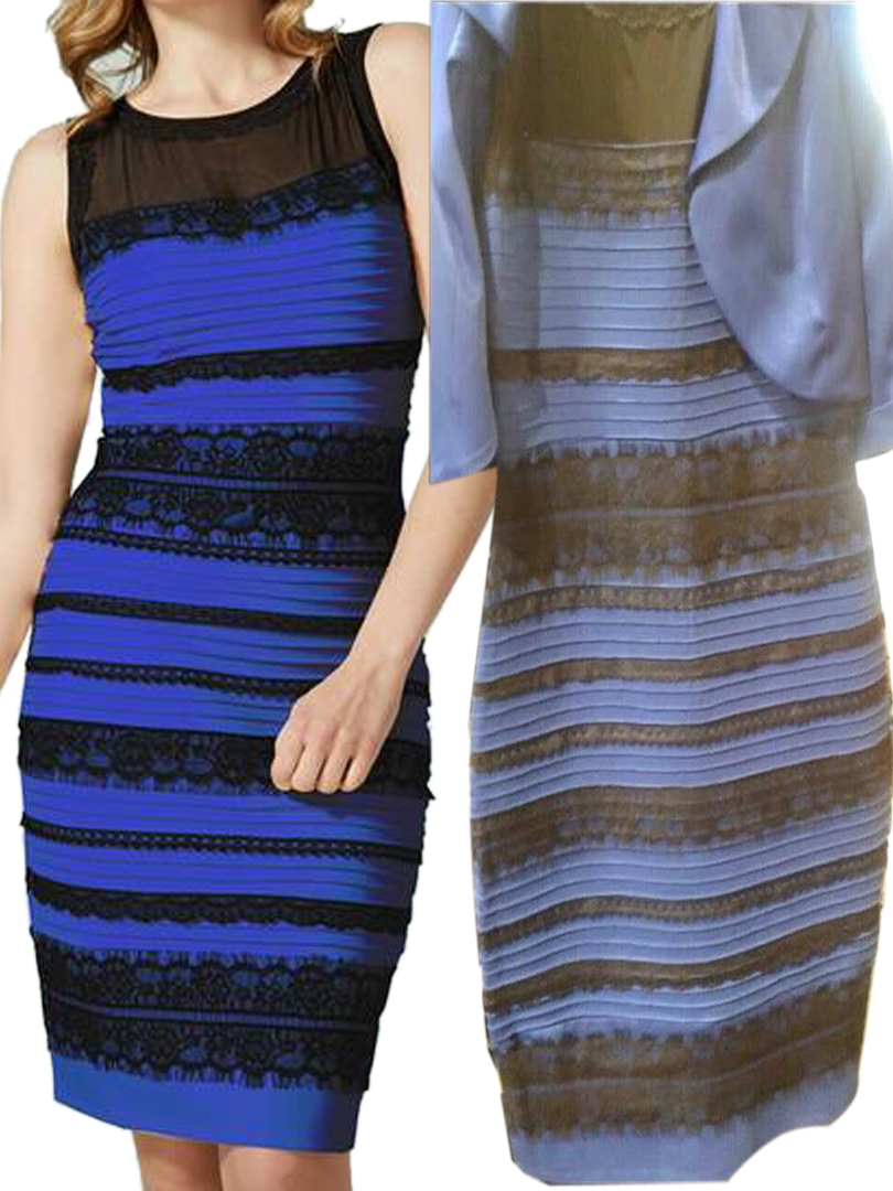The dress is white - The Dress That Sent The World Crazy Is It Blue Black Or White