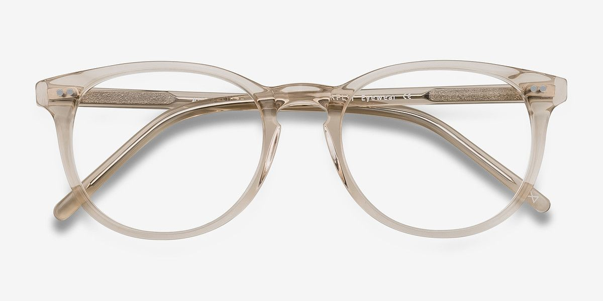 3fd4757e0e Aura Clear Acetate Eyeglasses from EyeBuyDirect. Exceptional style ...