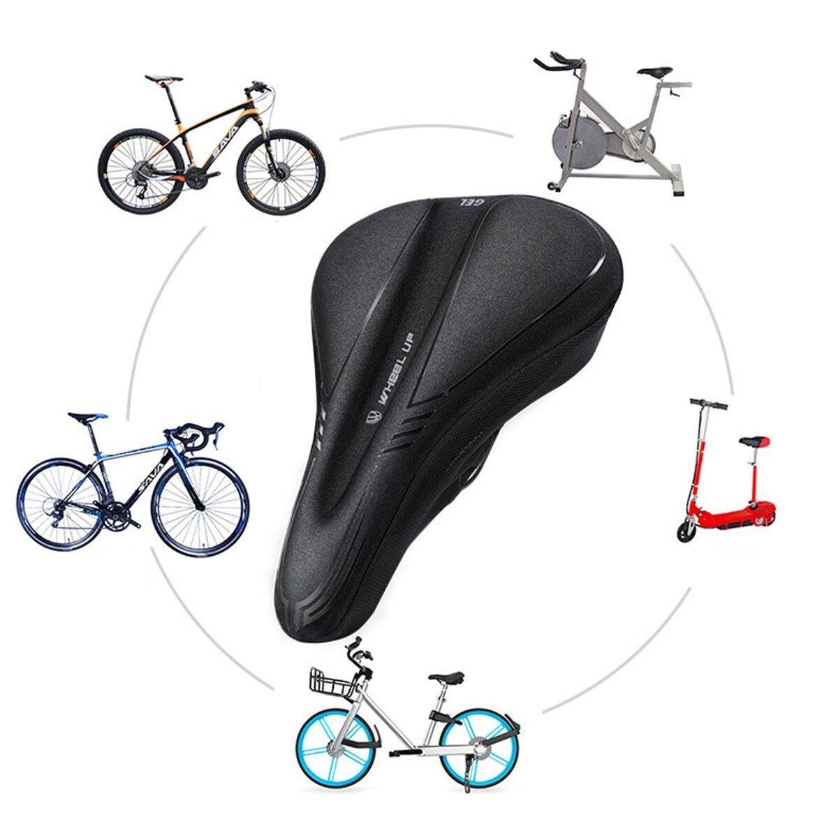 Bicycle Saddle Seat Soft Bike Seat Cover Comfortable Foam Seats Cushion Cycling.