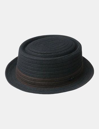... b7ed8 0c818 Pork Pie Bucket Hats Men bailey hats bailey spivy braided pork  pie hat black ... 6e25101d860