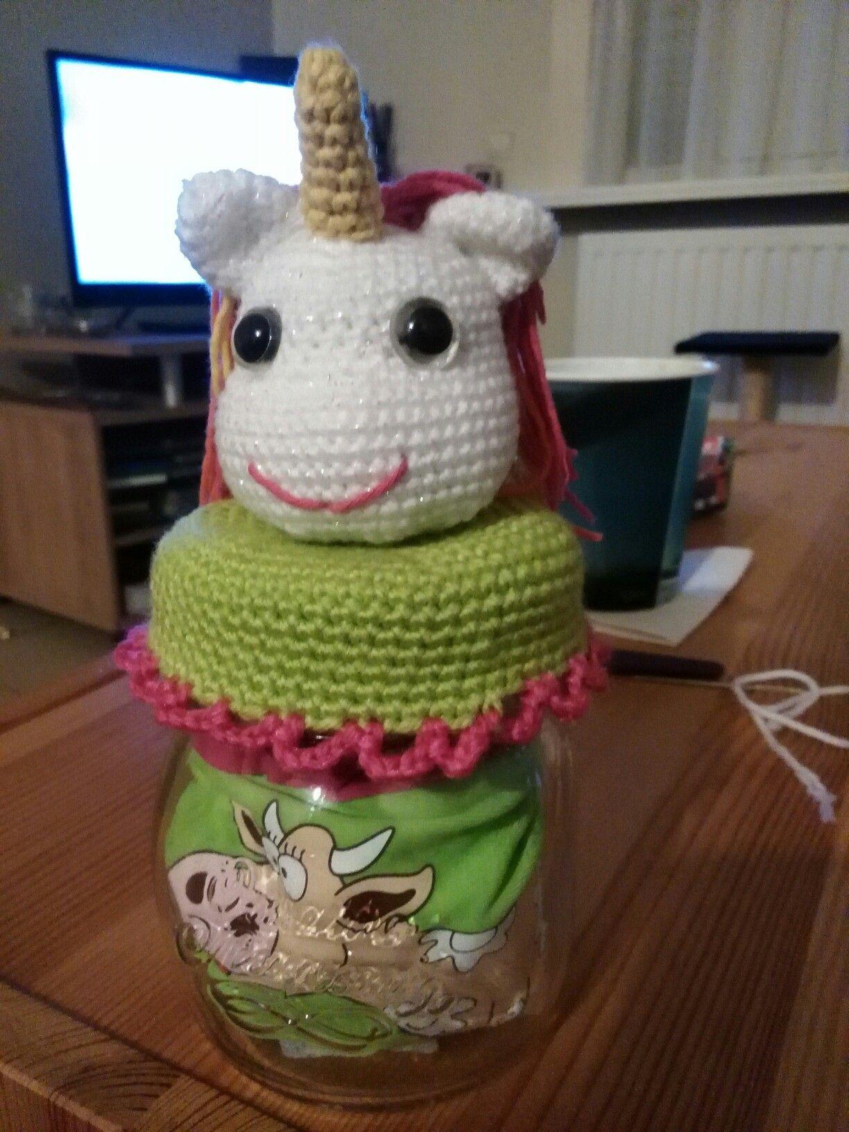 Geboorte Baby Potje Deksel Haken Gifts Crochet Crochet Kitchen