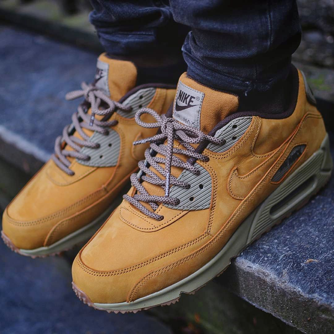 new style 97e68 de89f Nike Air Max 90  Wheat  (via Kicks-daily.com)