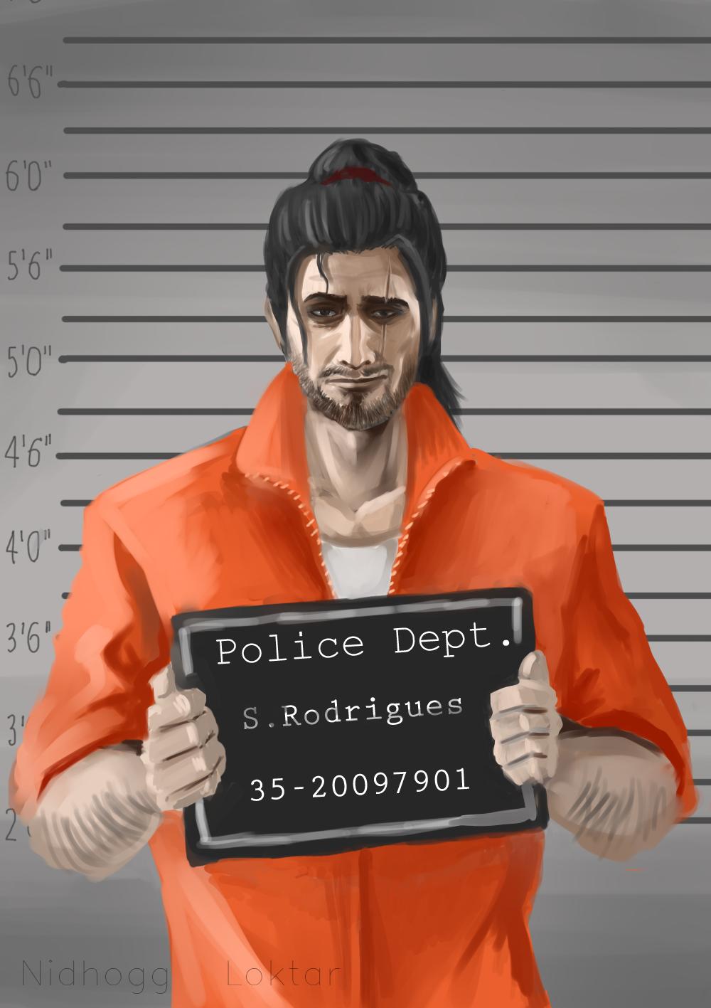 Samuel Rodrigues サムエルホドリゲス A Jailed Samurai