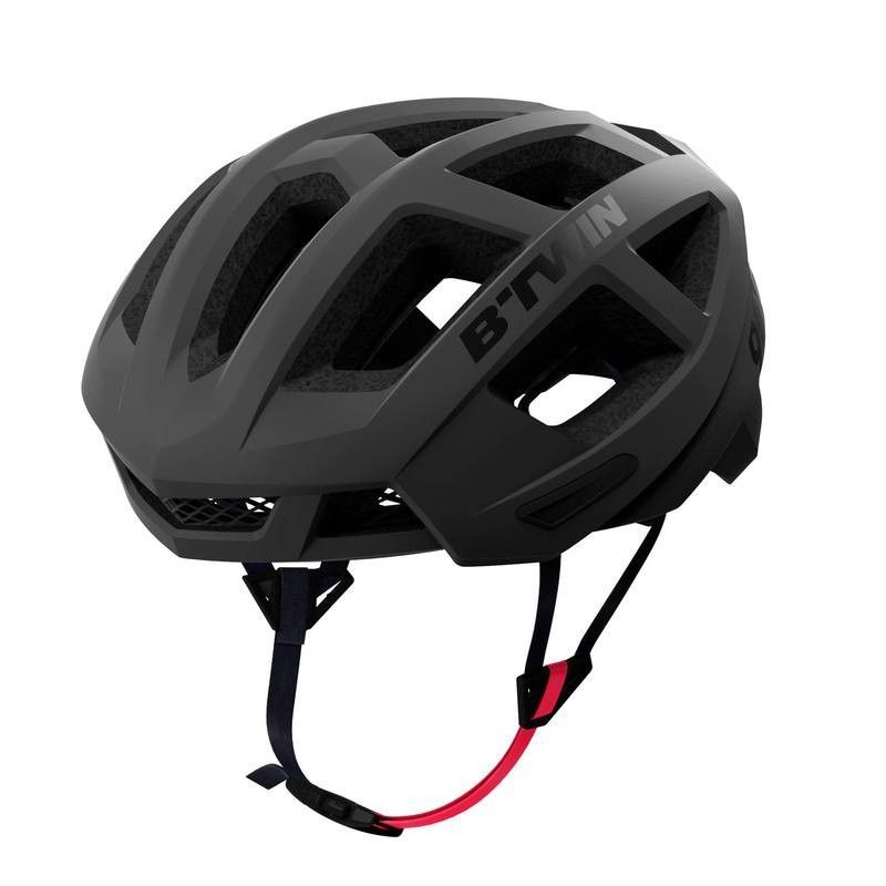 991a2a1c11e51 £39.99 - 15 - Cycling - Aerofit 900 Road Cycling Helmet - Black - B TWIN