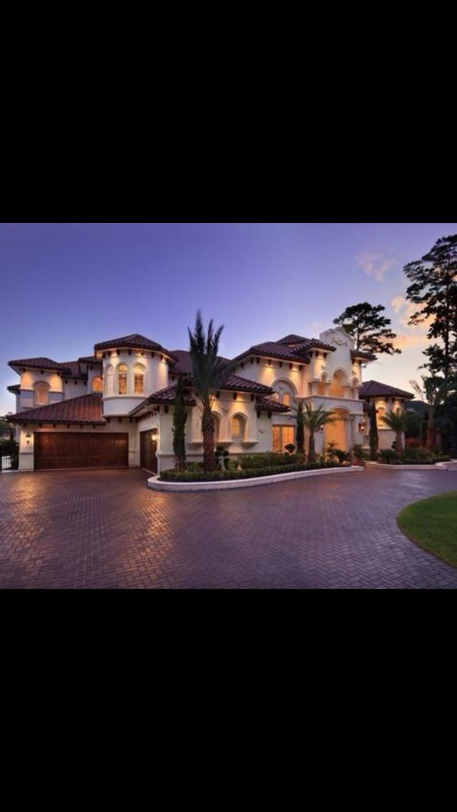Really Nice House Mediterranean Mansion Mansions