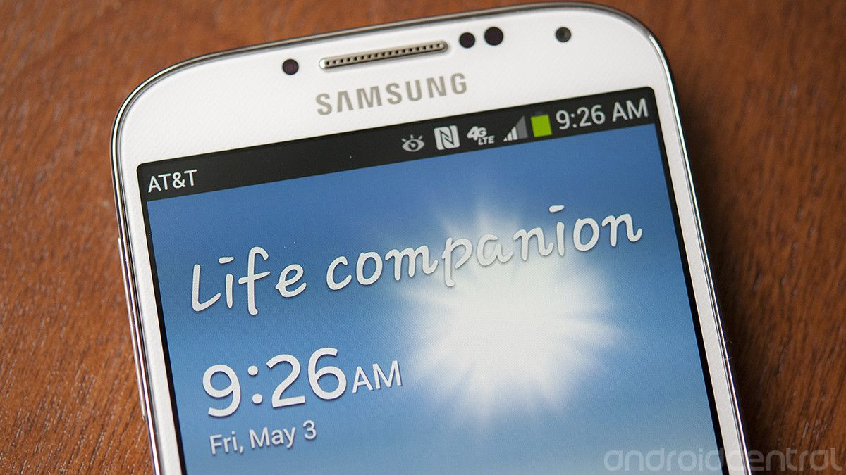 How To Change The Galaxy S4 Lock Screen Message Android Central