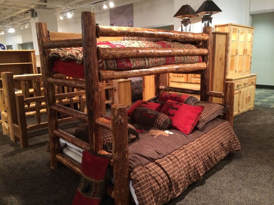 Transform your child's bedroom with this rustic wooden