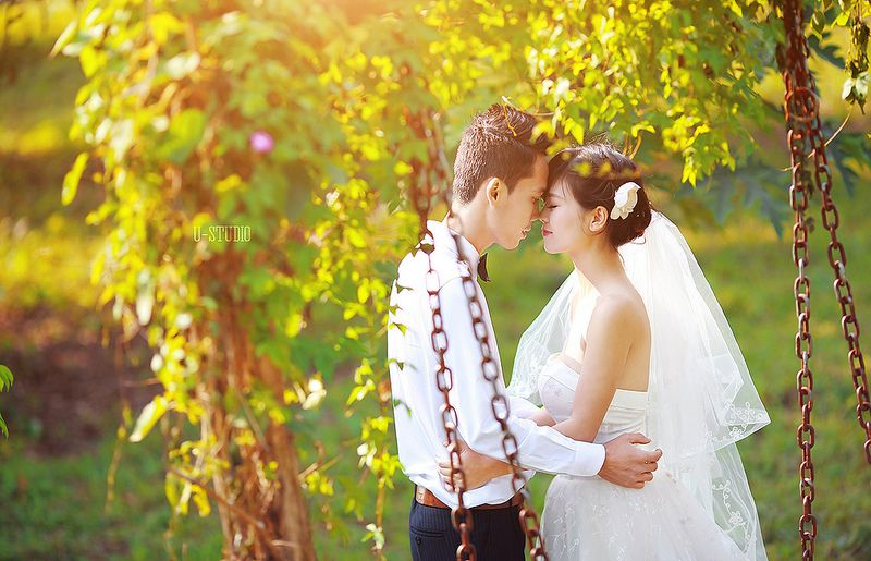 Ảnh cưới Vườn nhãn