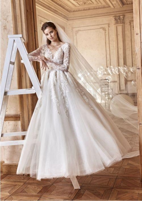 the exquisite tarik ediz white collection | vestidos de novia 44