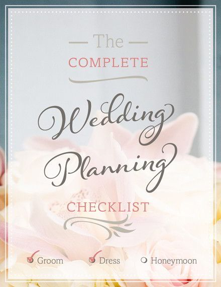 Get your Free Wedding Planning Checklist Wedding planning - wedding plan