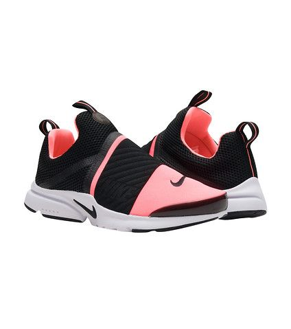 NIKE Presto extreme Sock fit construction Heel and tongue tab Elastic  Midfoot strap Rubber outsole f.