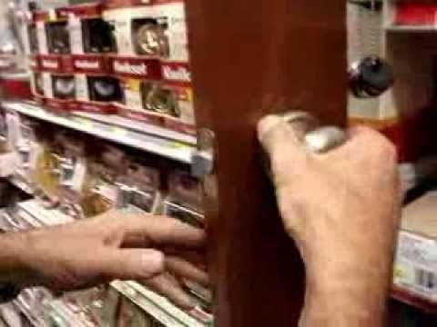 How To Tighten Door Handles With Hidden Screws Kwikset Schlage Yale Ezs Kwikset Door Door Handles Kwikset