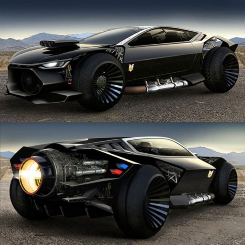Mad Max 73 XB GT Ford Falcon vs Fords Interceptor concept