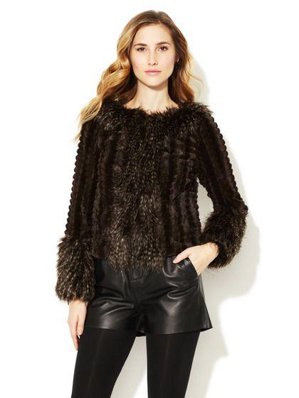 I'm obsessed with furry things...Stella & Jamie Bella Jacket