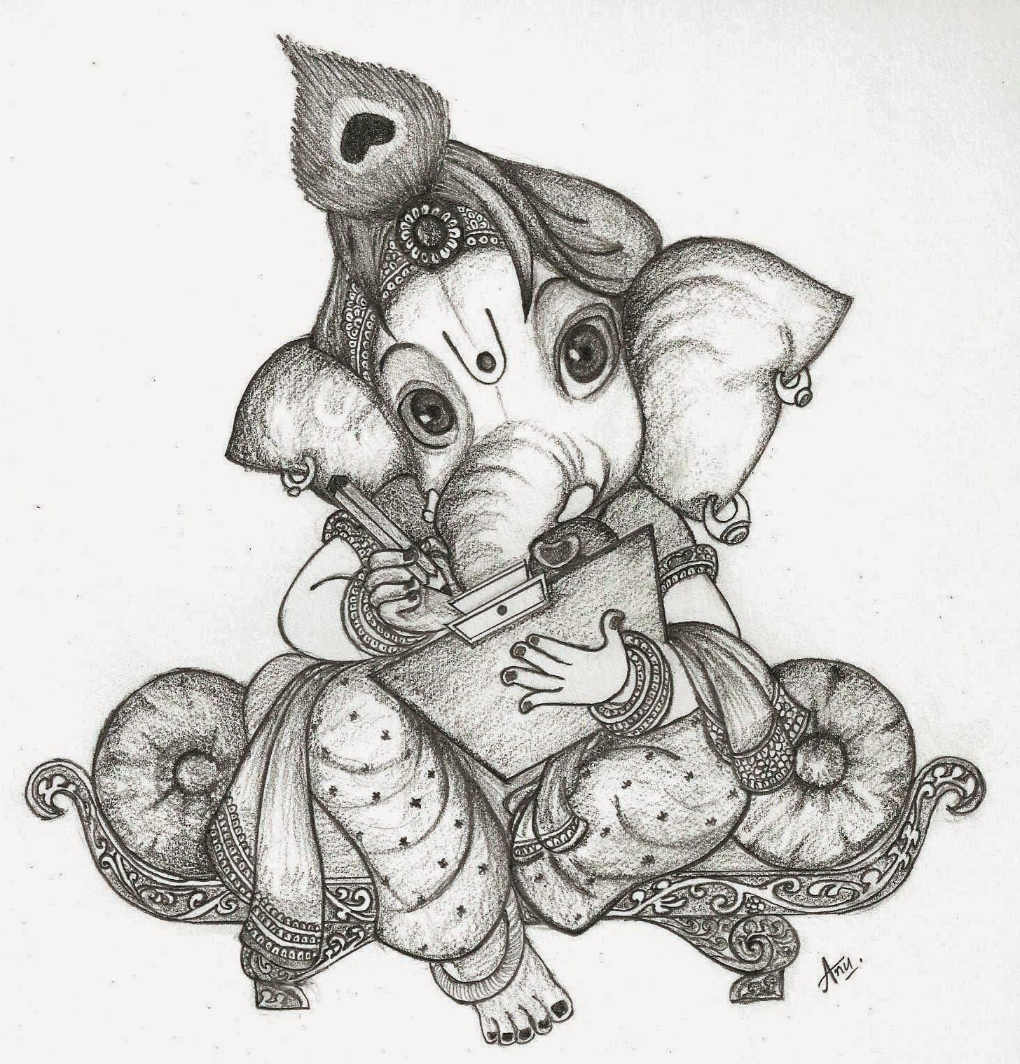 Related image shades in 2019 sketches ganesha sketch