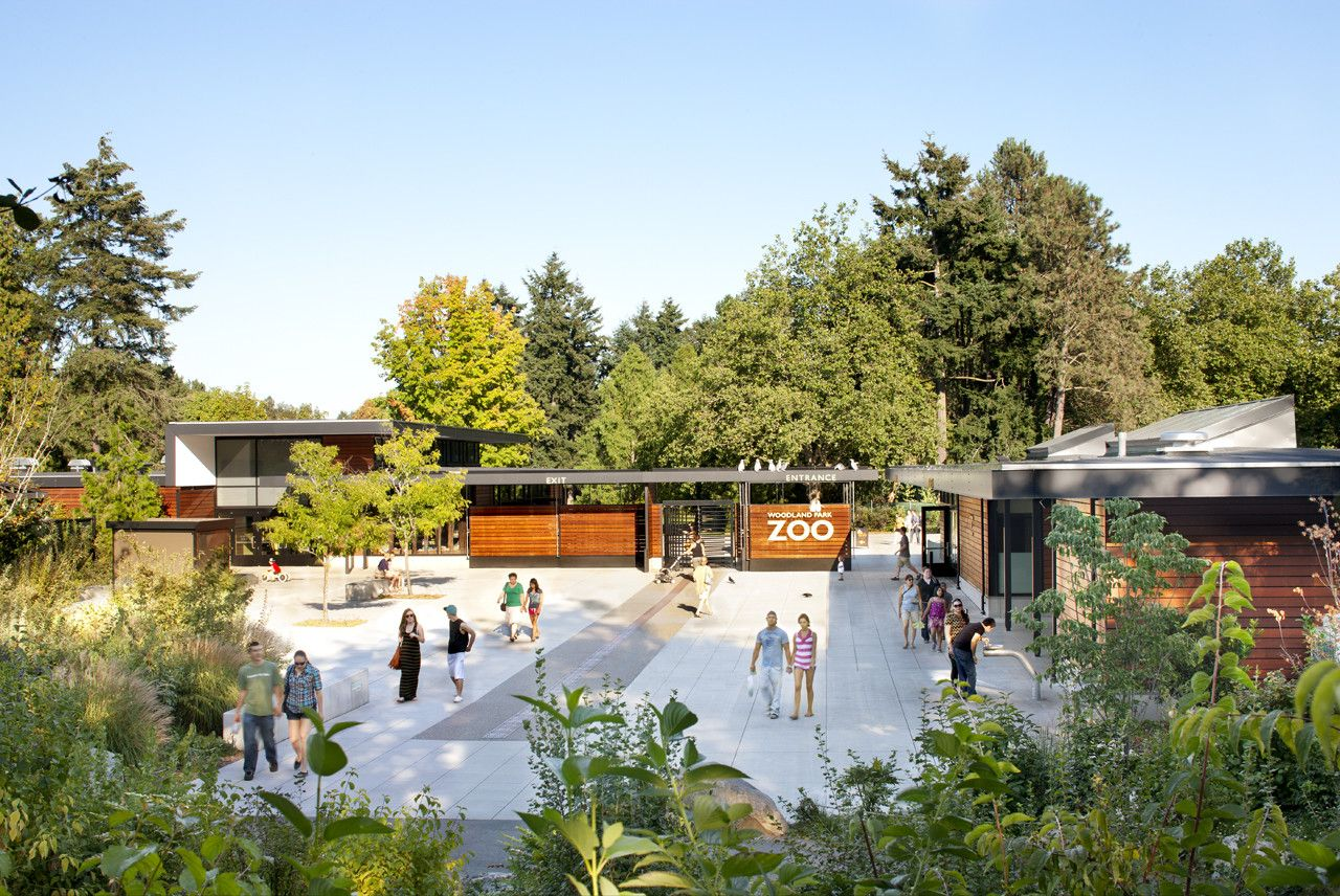 Gallery Of Woodland Park Zoo New West Entry Weinstein A U 15 Woodland Park Zoo Zoo Architecture Woodland Park