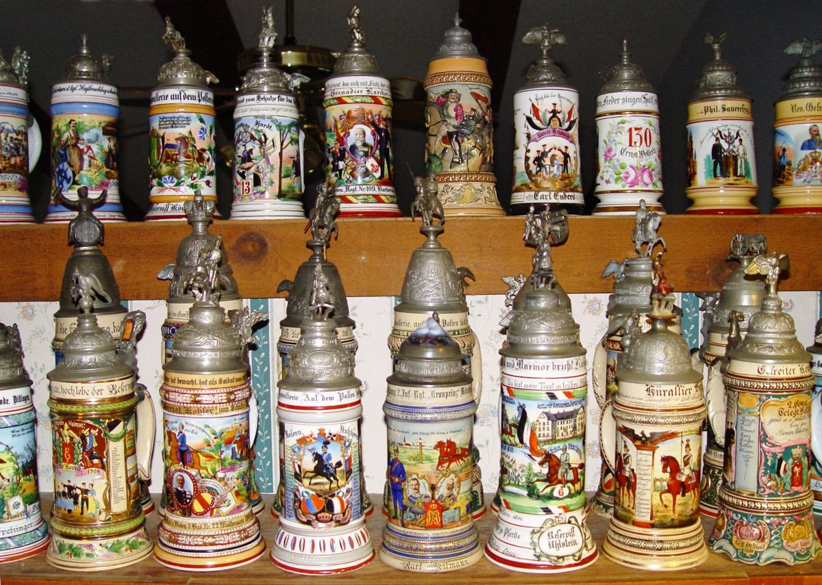 German Beer Steins Beer Boots German Beer Mugs Custom German Steins