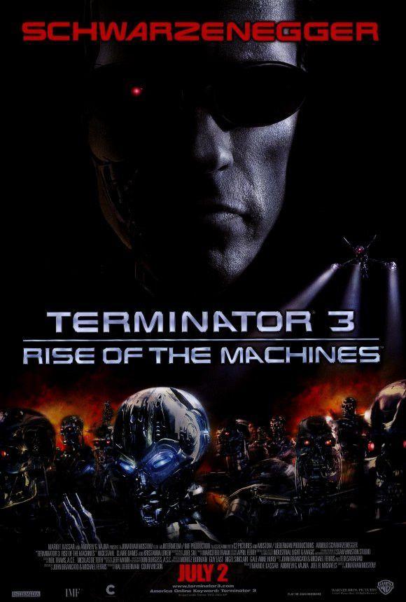 Terminator 3 Rise Of The Machines 27x40 Movie Poster 2003 Poster De Peliculas Carteles De Peliculas Arte De Comics