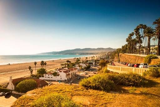 With a view like this (plus tons of restaurants and things to do), who wouldn't want to take a trip to #SantaMonica? #travel #vacation