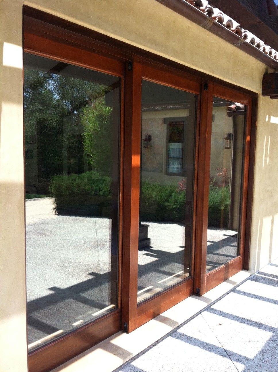 House European Exterior Sliding Glass Doors, Size Of