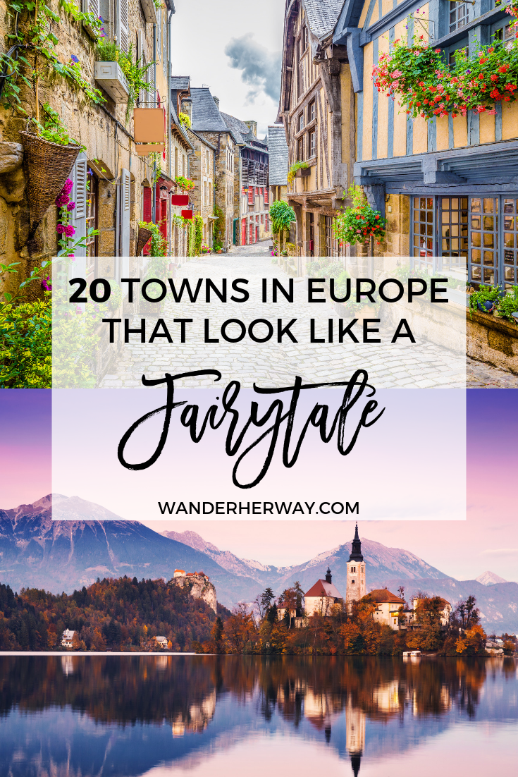 20 Magical Fairytale Towns in Europe #vacationdestinations