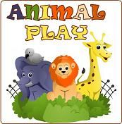 2-3 year olds uses books, songs, games & activities about animals to introduce the alphabet, numbers, shapes, & colors