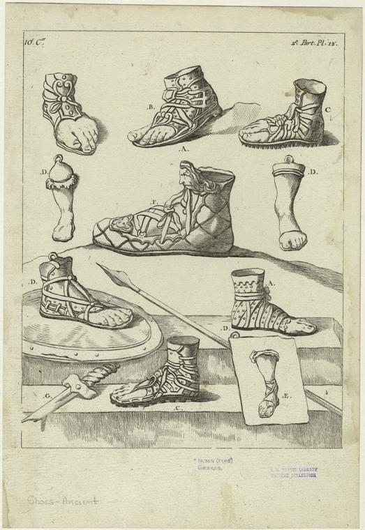 Ancient Greek Footwear | Ancient Greek Costume Research ...