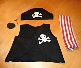 pirate costume for kids – If your kid still hasn't got a Halloween outfit, this … – MeinesTube