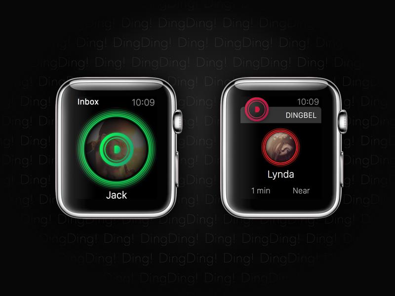 Dingbel for Apple Watch