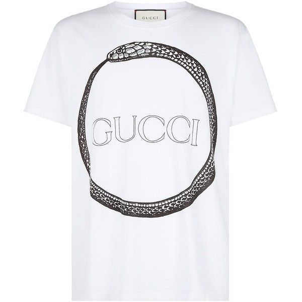 2fe811000 Gucci Snake Ring T-Shirt (450 CAD) ❤ liked on Polyvore featuring men's
