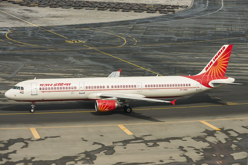 Air India Fleet Airbus A321200 Details and Pictures Air