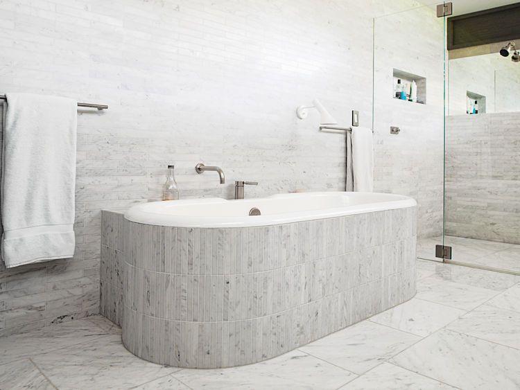 Tuscan Modern Spa Bathroom Design on modern tuscan farmhouse sinks, modern tuscan garden design, modern tuscan house designs, modern bathrooms with large windows,