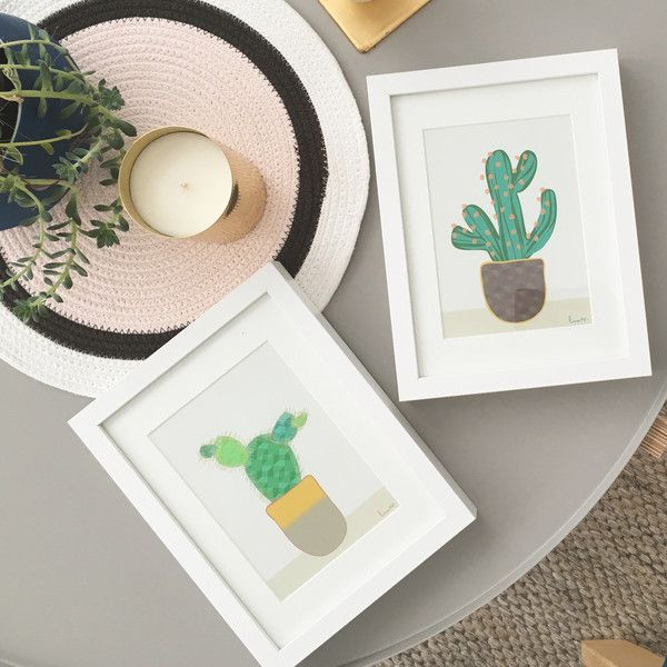 Mini Cactii - Set of 2