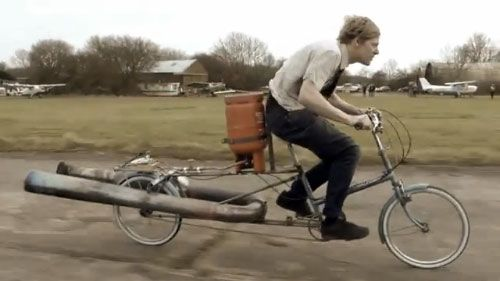 The Jet Bicycle Powered Bicycle Bicycle Gas Powered Bicycle