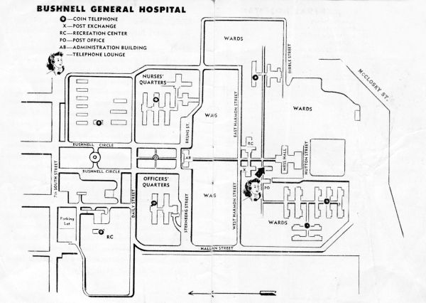 1942 To 1946 Bushnell General Military Hospital Brigham City