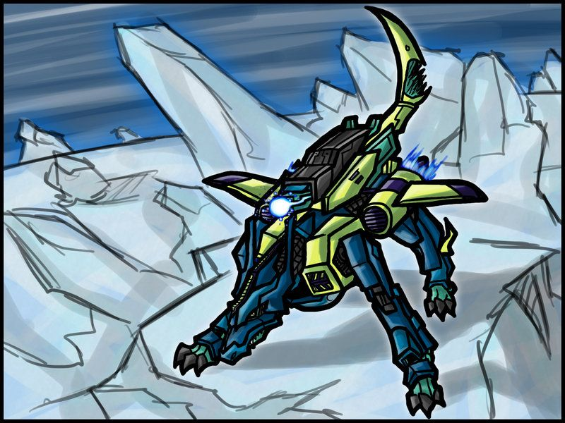 MetalGarurumon:Icy Friendship by ~Kiarou on deviantART