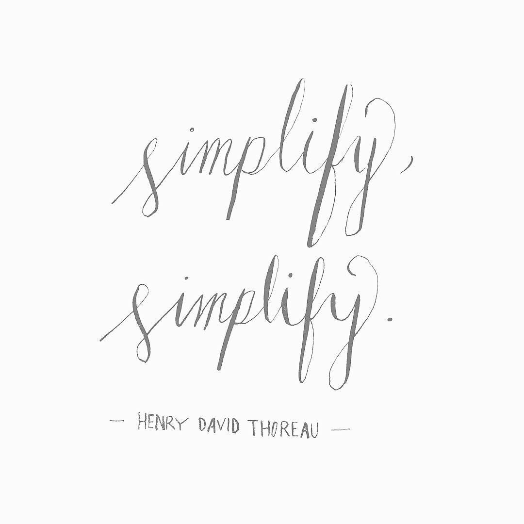 "Simplify Life Quotes Day 8100 100 Quotes For My Daughter"" Our Life Is Frittered Away"