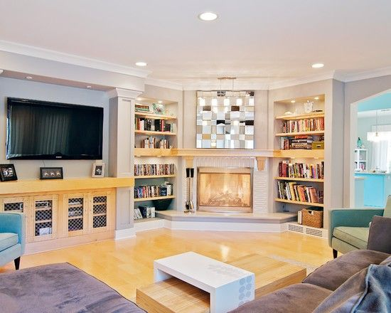Fireplace Family Room Design Ideas Pictures Remodel And Decor Family Room Design Fireplace Design Living Room Corner