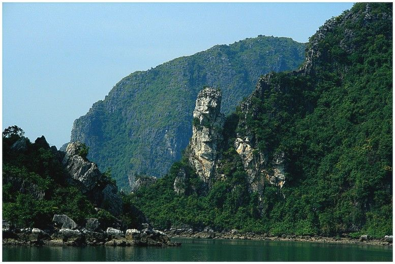 this is a picture of a land form on a island in russia east asia - land form